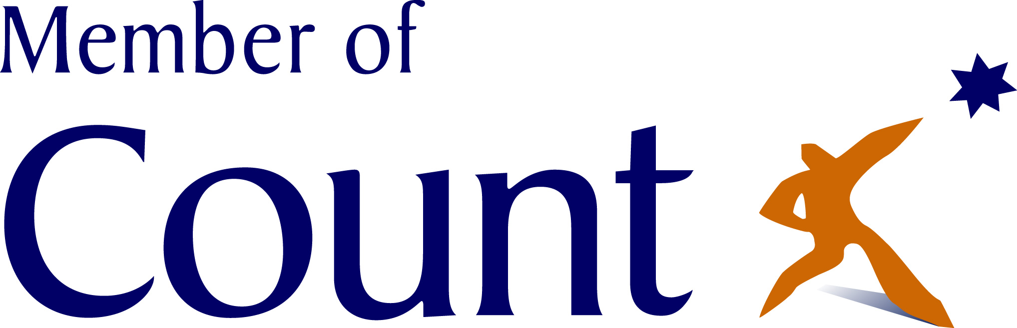 Member of Count White Logo